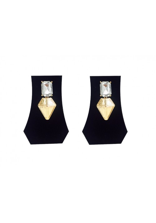 Forever New Aztec Gem Triangle Egyptian Alloy Drop Earring