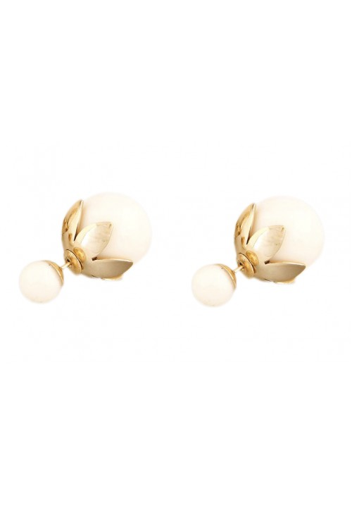 Forever New Dior Inspired Shine Glamor Summer Alloy Stud Earring