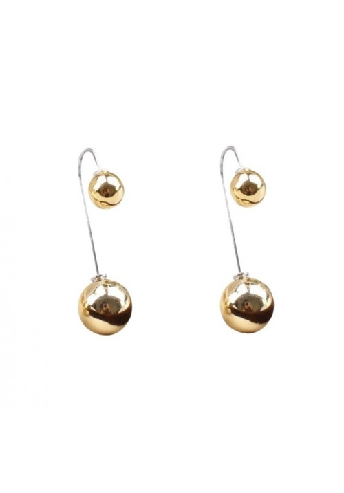 Forever New Double Sided Bauble Glamor Summer Alloy Drop Earring