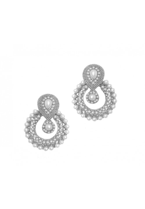 Forever New Festival Shine Alloy Chandbali Earring