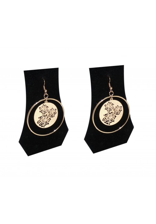 Forever New Exquisite Rossette Alloy Dangle Earring