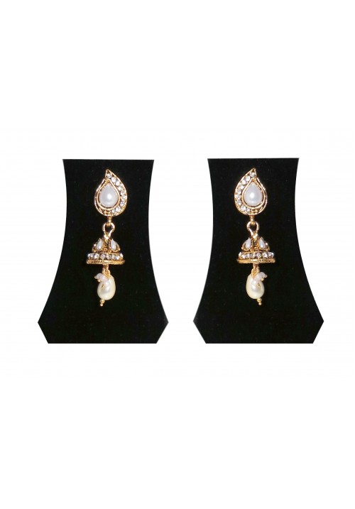 Stylish Sparkle Moonshine Alloy Dangle Earring