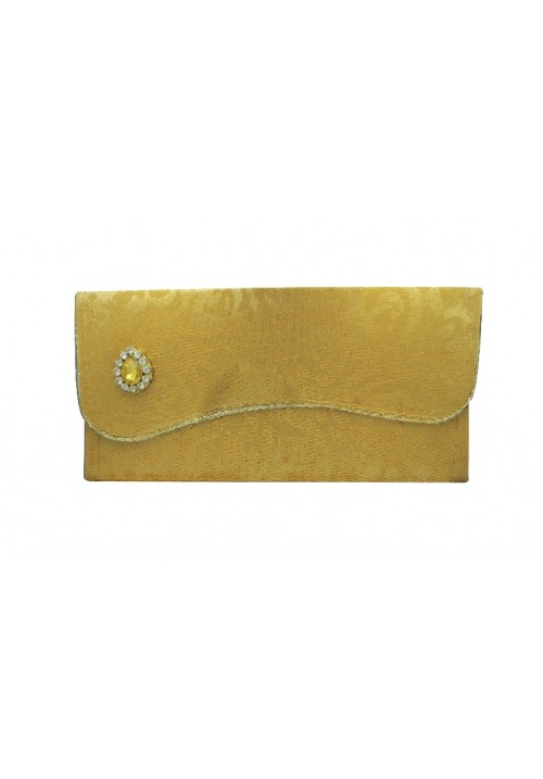 Envelopes (Pack of 1 Yellow, Gold)