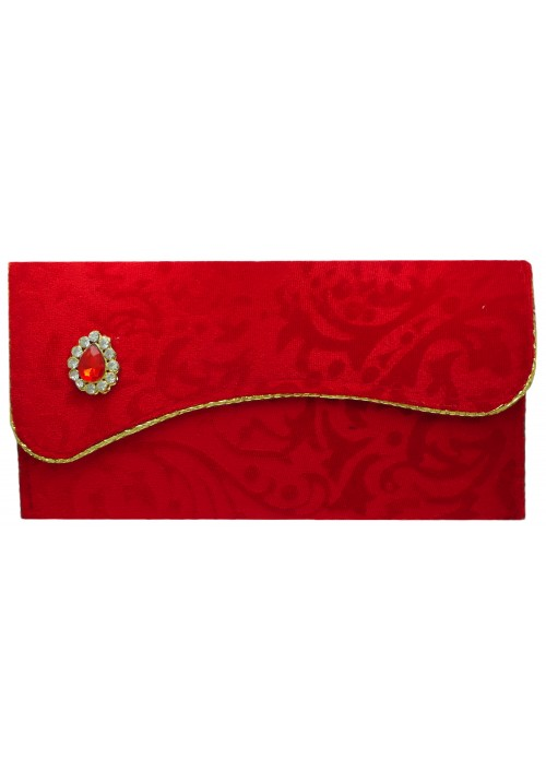 Envelopes (Pack of 1 Red, Gold)