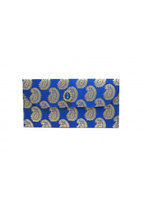 Envelopes (Pack of 1 Blue, Gold)