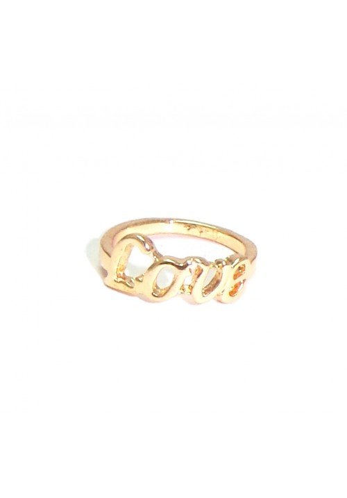 Fabulous Life Glam Love Lettters Alloy Ring